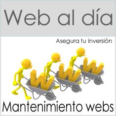 Mantenimiento webs