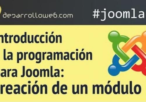 Introducción a la programación para Joomla:…
