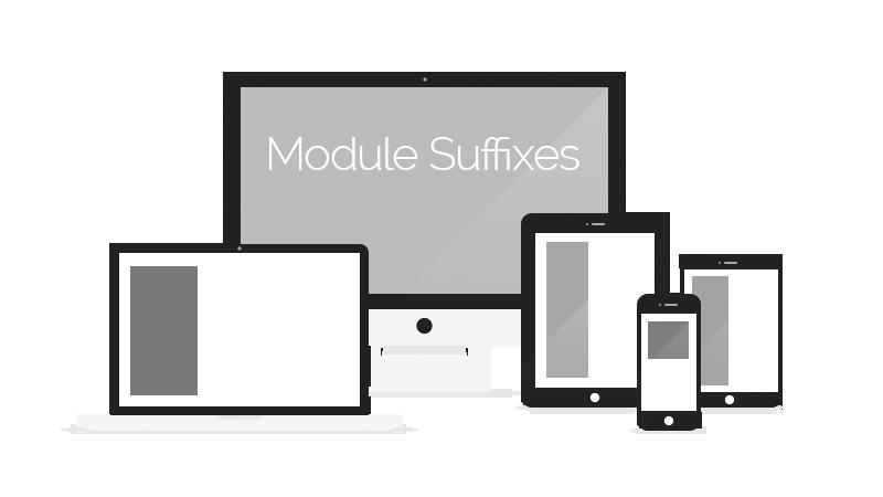 Module class suffix