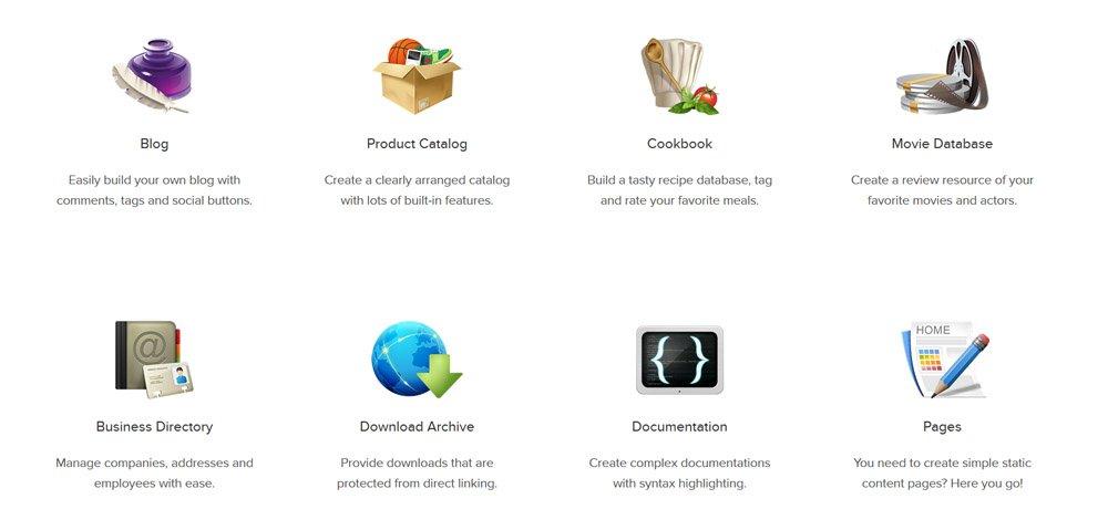 Cosas que podemos hacer con el componente Joomla ZOO