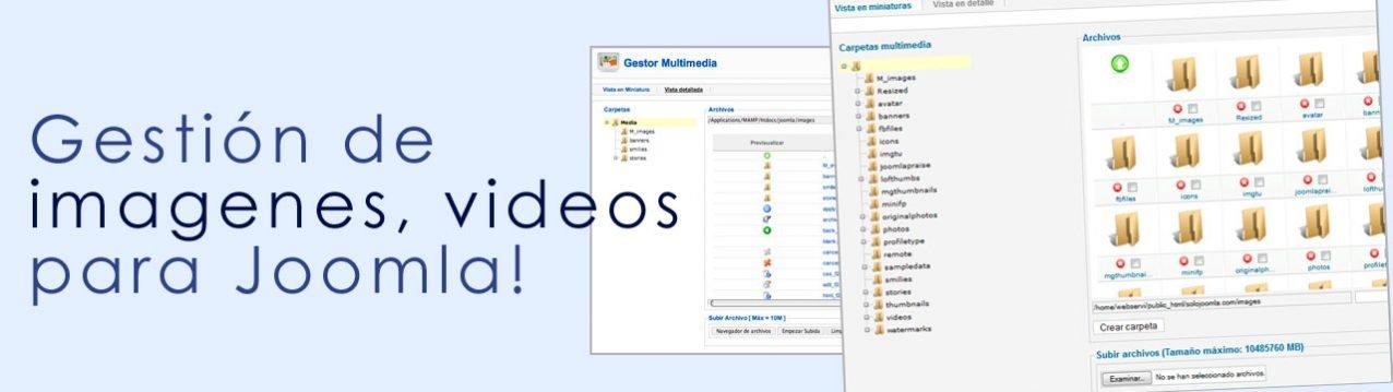 Gestor Multimedia Joomla!