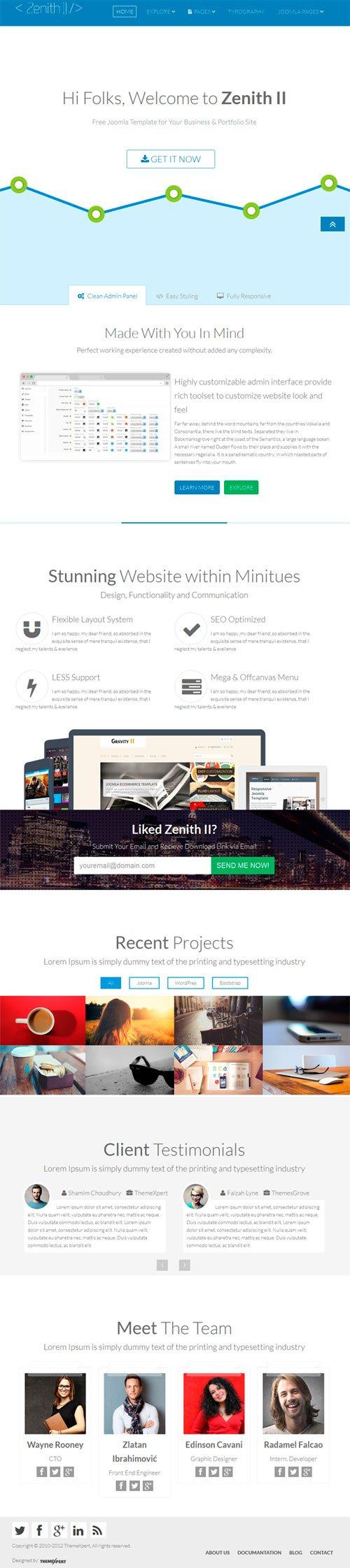 Demo Template Zenith 2