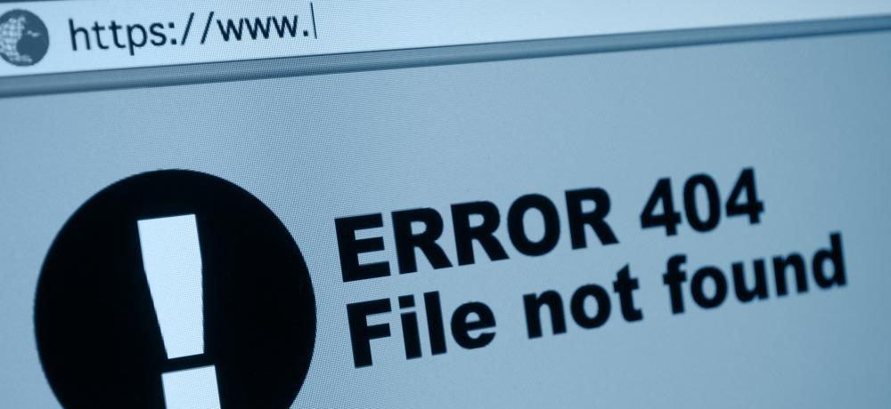 Redireccionar error 404