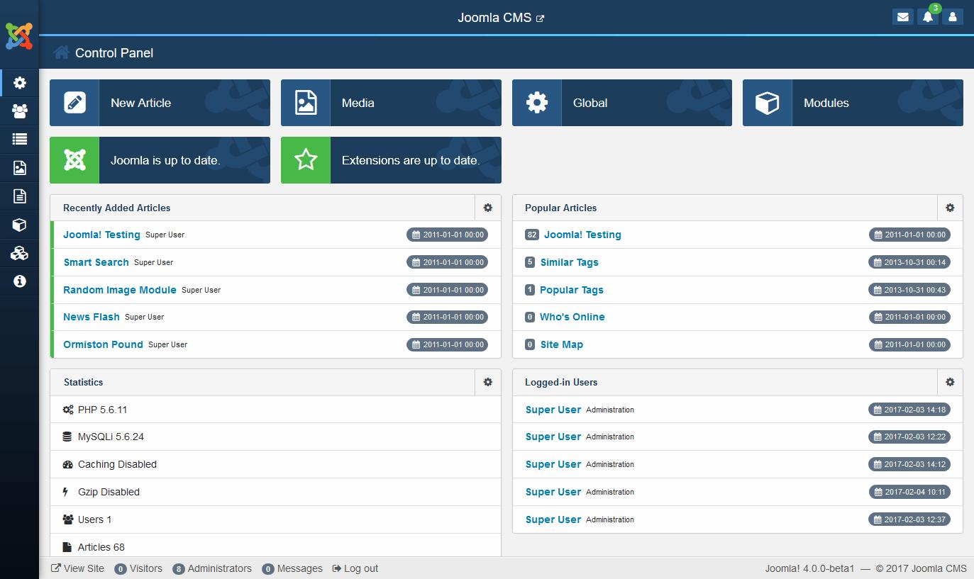 frameworks template joomla